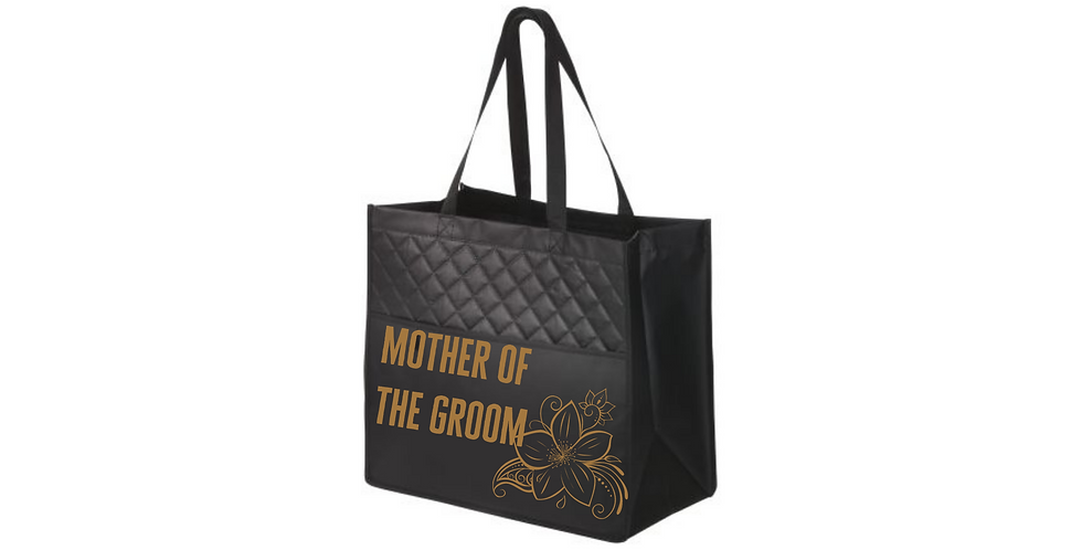 Mother Of The Groom Personalised Fashionable Tote Bag