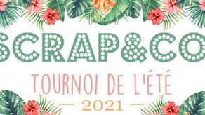 DT Scrap & Co - Tournoi de l'été défi #3