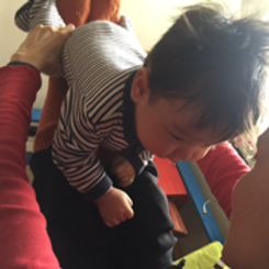 Sway, Exhale, Squeeze- movement classes for Baby and Me