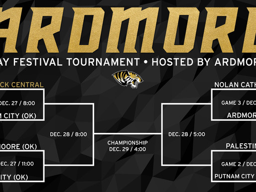 Ardmore (OK) Holiday Festival Bracket Released