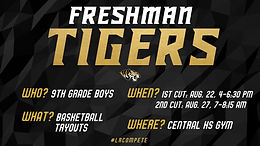 Freshman Tiger Tryout Dates Set