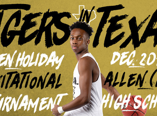 Tigers Invited to Premier Texas Tournament for 2019-20