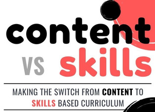 An Educator's Perspective: Switching From Content to Skills