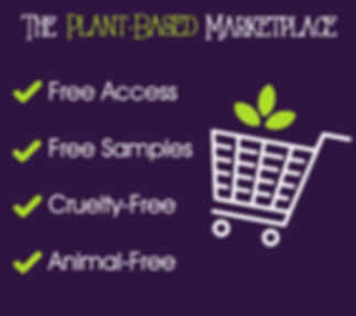 The Plant Based Marketplace exhibitors area of Your Plant Based Guide conference,plant based products,vegan products,cruelty free products,eco friendly produts