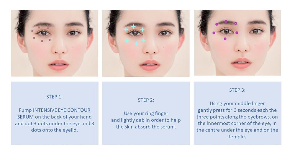 How to apply an eye cream