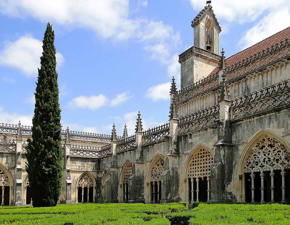 Jardim do Mosteiro dos Jerônimos em Lisboa