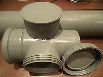 Заменить тройник канализации