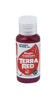 Magic Colours™ - Natural Gel Colours - Terra Red