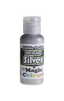 Magic Colours™ Metallic Silver 100% Edible