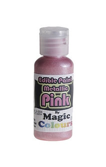 Magic Colours™ Metallic Pink 100% Edible