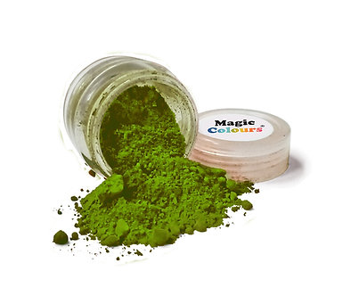 Magic Colours™ Edible Petal Dust - Forest Green