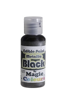 Magic Colours™ Metallic Black 100% Edible
