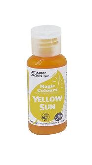 Magic Colors ™ - צבע מאכל טבעי - צהוב שמש