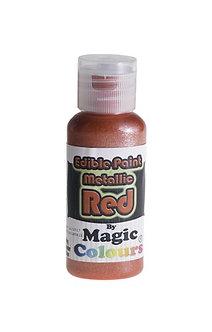 Magic Colours™ Metallic Red 100% Edible
