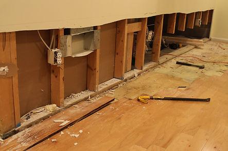 Professional drywall damage repairs