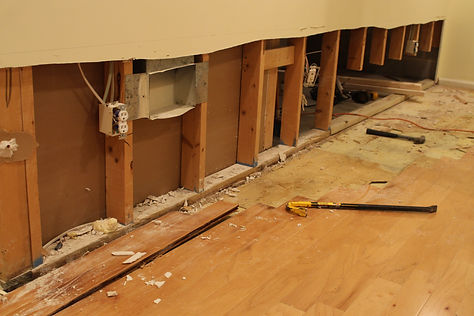 Professional drywall damage repairs