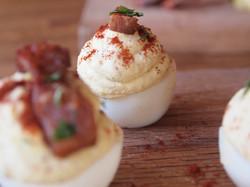 Revolution Wines Deviled Eggs