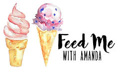feed me with amanda logo