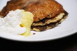 Zenia Bar & Grill Blueberry Pancakes