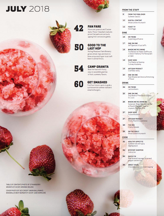 Feast Magazine - Granitas Feature