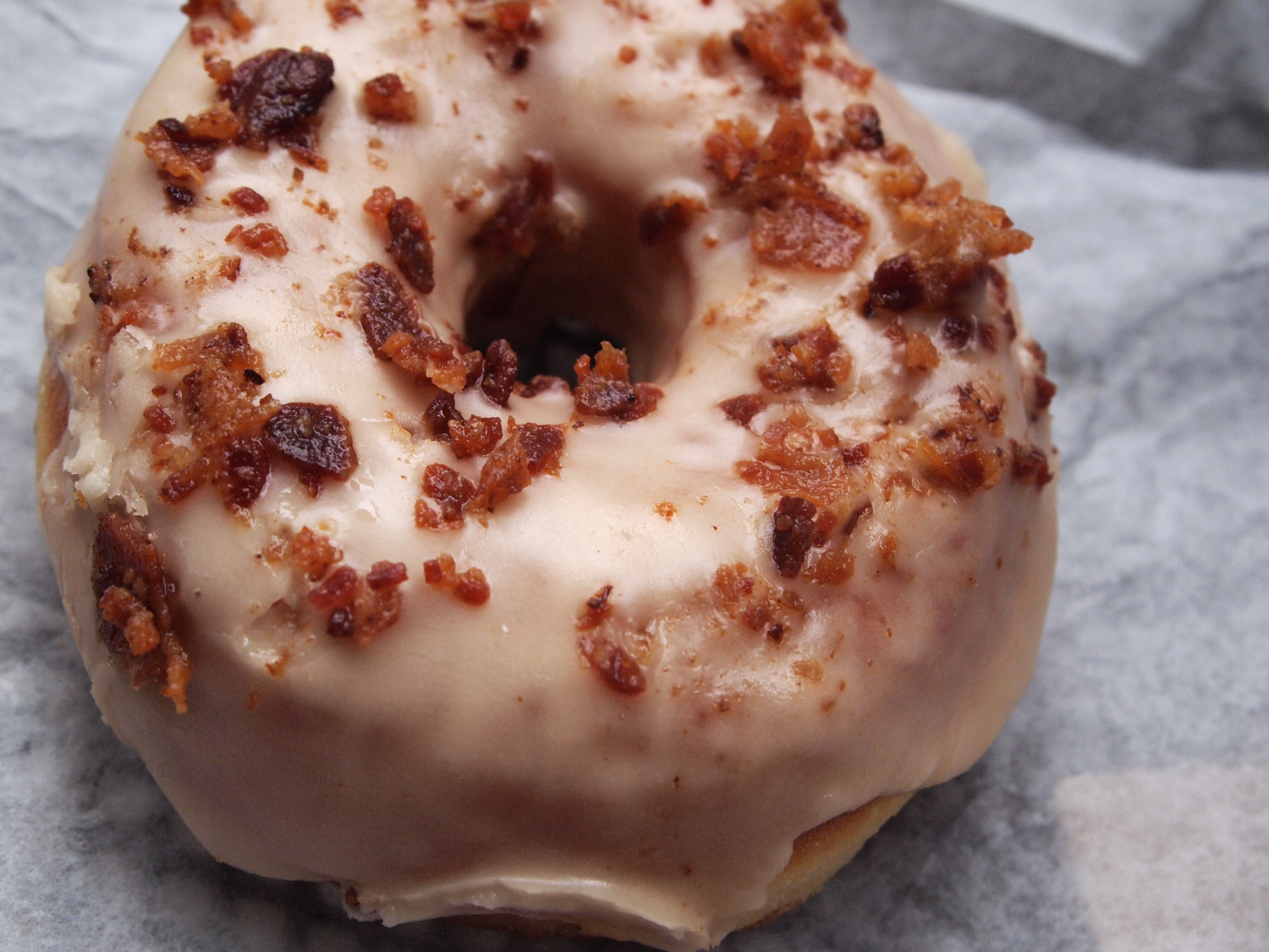 Astro Doughnuts Maple Bacon