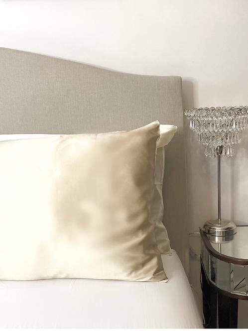 Champagne 100% Mulberry Silk Pillowcase