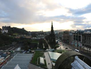 On location Edinburgh Balmoral Hotel.