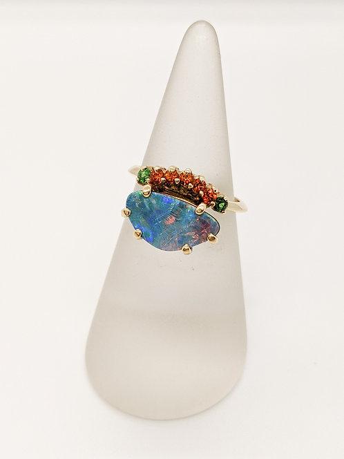Opal on Fire