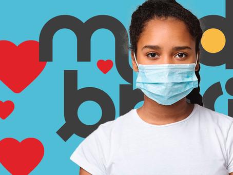 Campanha de doação de máscaras
