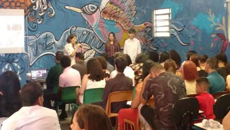 Formatura da Turma 4 do Projeto Jovens Líderes do Futuro