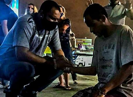Testemunho do coordenador em Brasília
