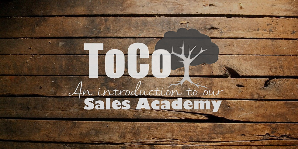 ToCo Sales Academy - Introduction