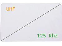 Badge Bi-fréquences - Hybrid 125kHz et UHF