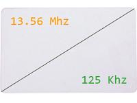 Badge Bi-fréquences - Hybrid 125kHz et 13,56MHz