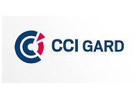 CCI Gard. Contrôle d'accès physique par tourniquet de sécurité.