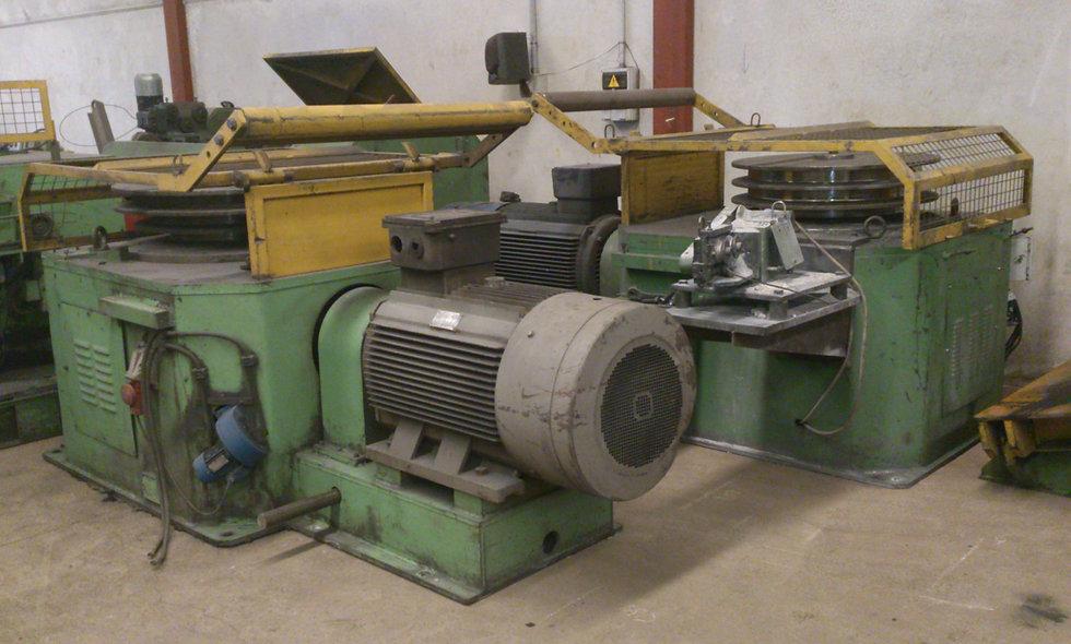 Máquina Trefiladora y Enderezadora B&W 6/3 FULL