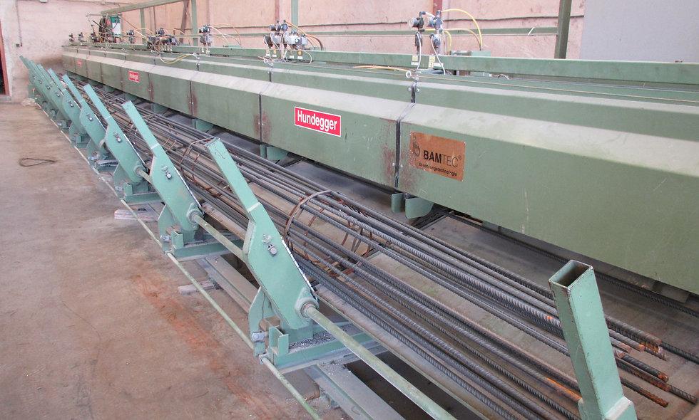Maquinaria de Mallazo en Rollo BAMTEC