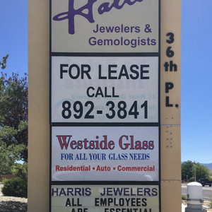 Our sign off Sothern Blvd.