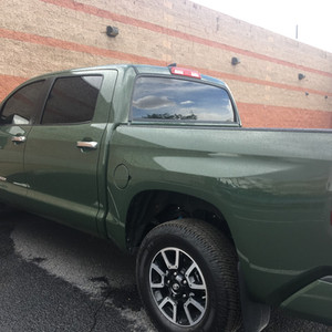 Truck with Tint