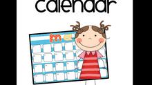 Master School Calendar