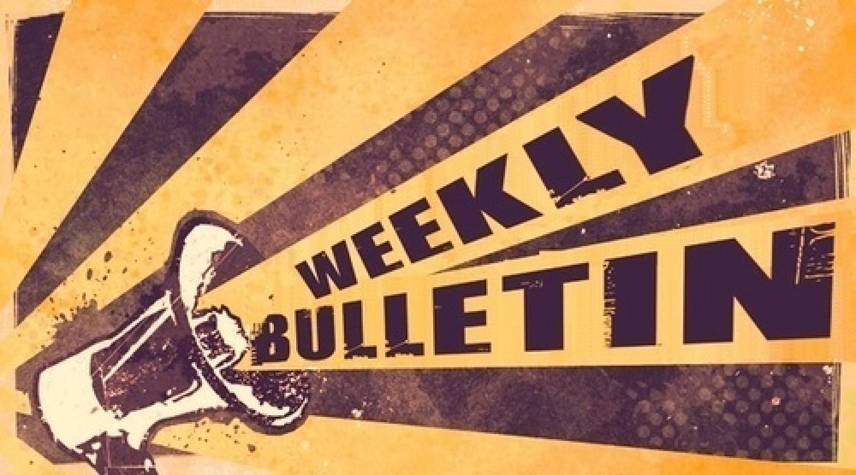 Weekly Bulletin: Week 6 9/28-10/2