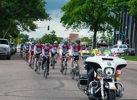 The national ems bike ride