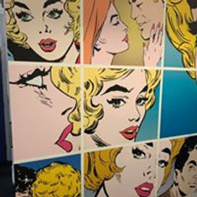 Pop Art Wall