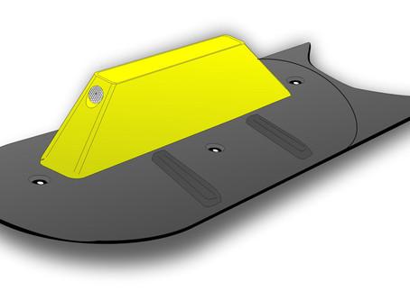 Nuovo spartitraffico alto 20 cm per pista ciclabile