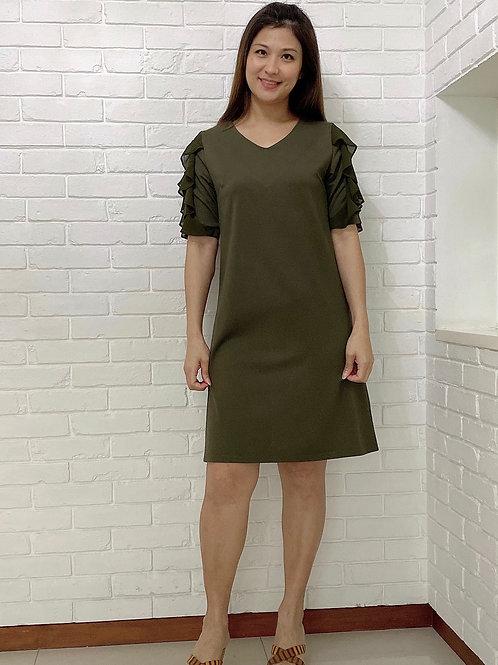 Moniq Green Dress