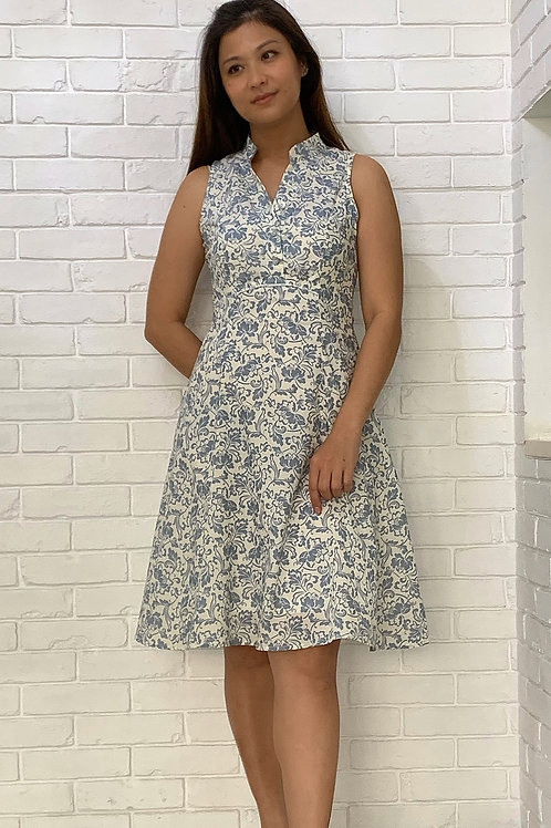 Marseille Print Dress
