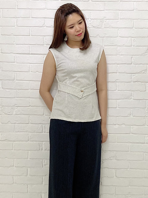 Pearle white blouse
