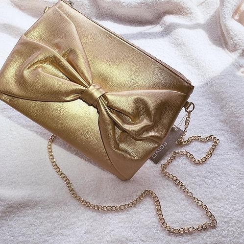 Averie Gold Clutch