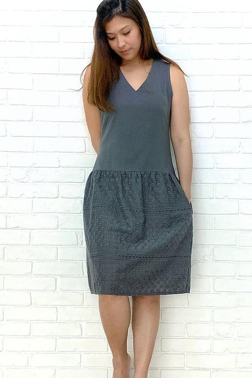 Demi Eyelet Dress