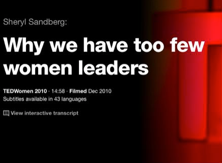 Why Do We Have Too Few Women Leaders?